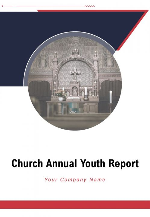 Church Annual Youth Report PDF DOC PPT Document Report Template