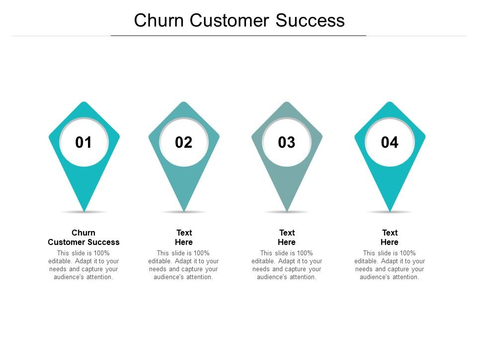 Churn Customer Success Ppt Powerpoint Presentation Infographics Cpb
