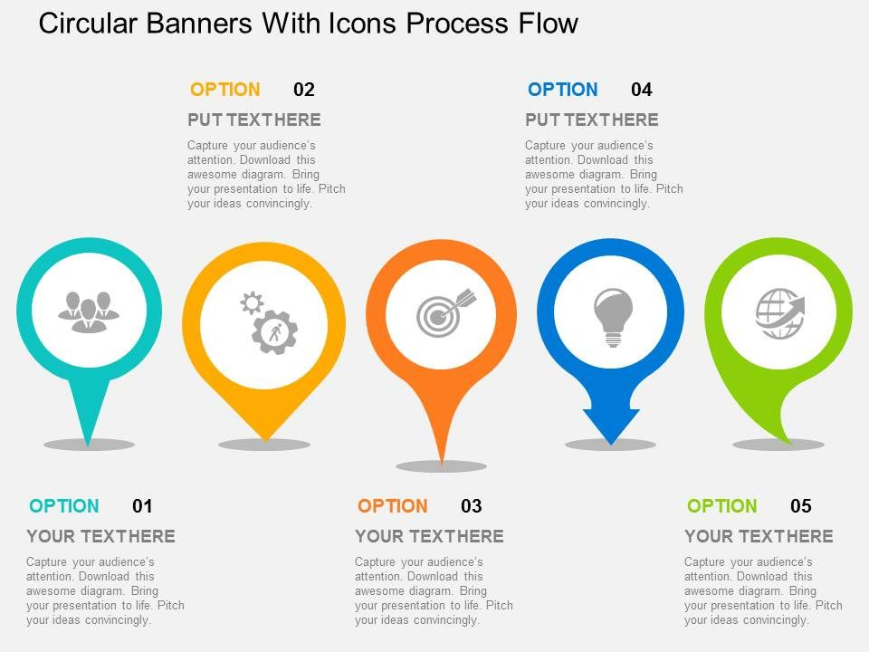 circular_banners_with_icons_process_flow_flat_powerpoint_design_Slide01