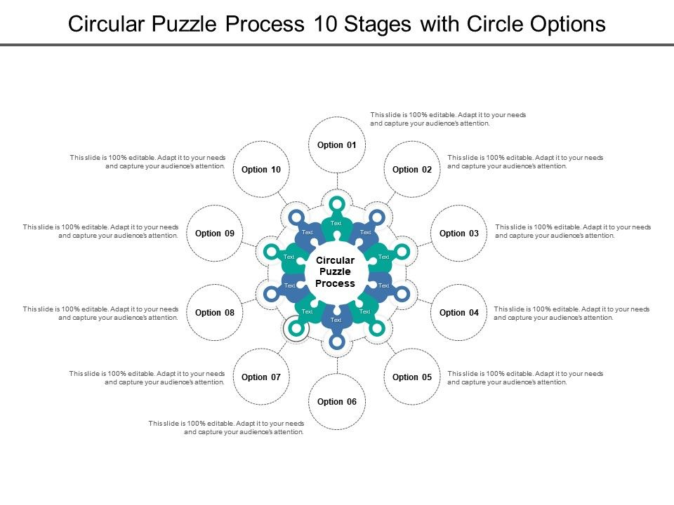 circular_puzzle_process_10_stages_with_circle_options_Slide01