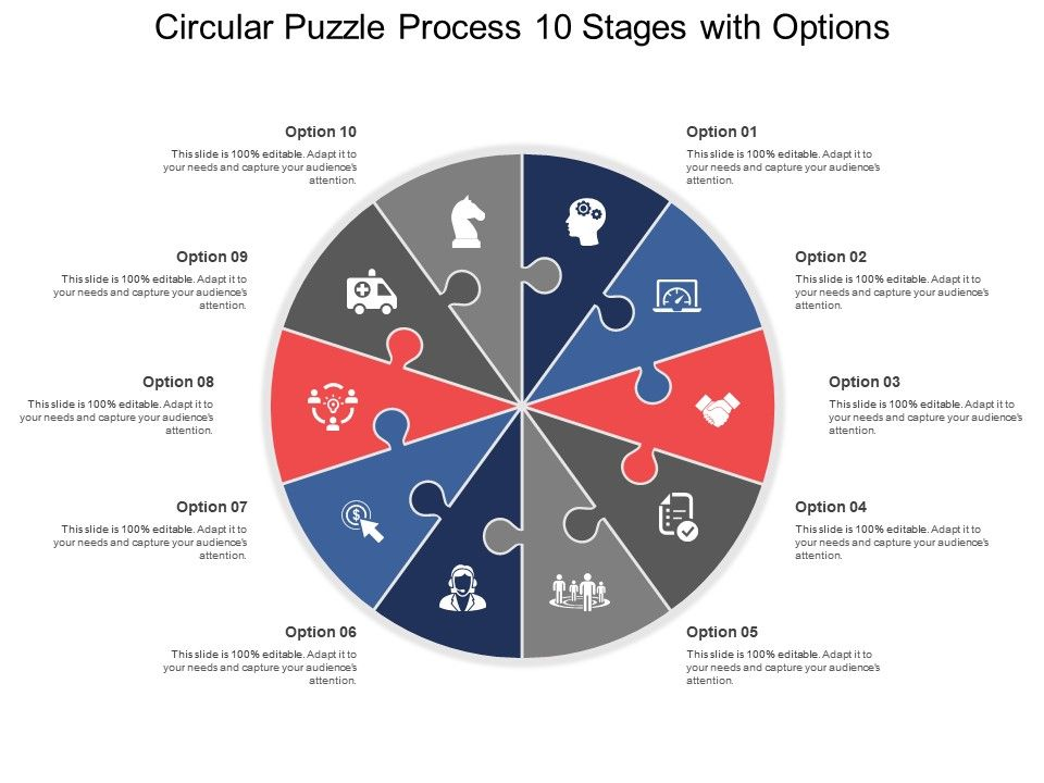 circular_puzzle_process_10_stages_with_options_Slide01