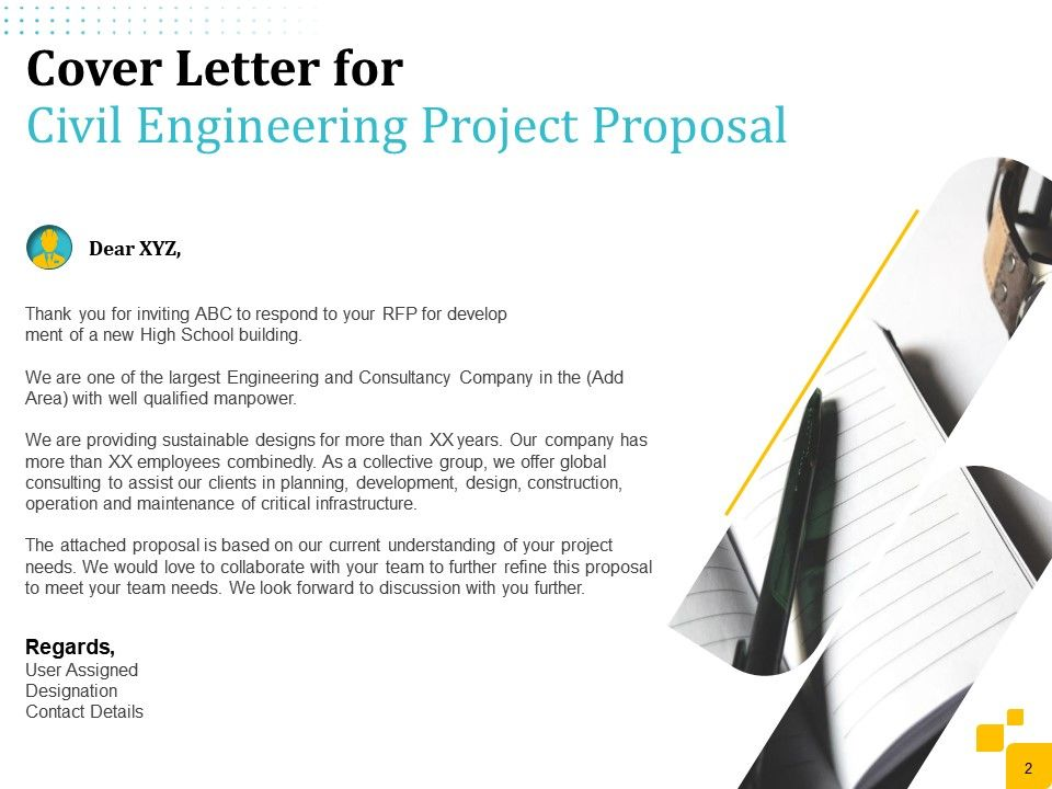 Civil Engineering Project Proposal Powerpoint Presentation Slides Powerpoint Slide Template Presentation Templates Ppt Layout Presentation Deck