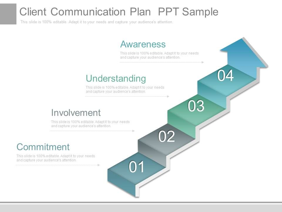 Client Communication Plan Ppt Sample | Powerpoint Slides Diagrams