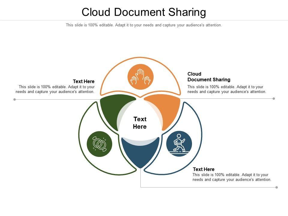 Cloud Document Sharing Ppt Powerpoint Presentation Portfolio Infographics Cpb