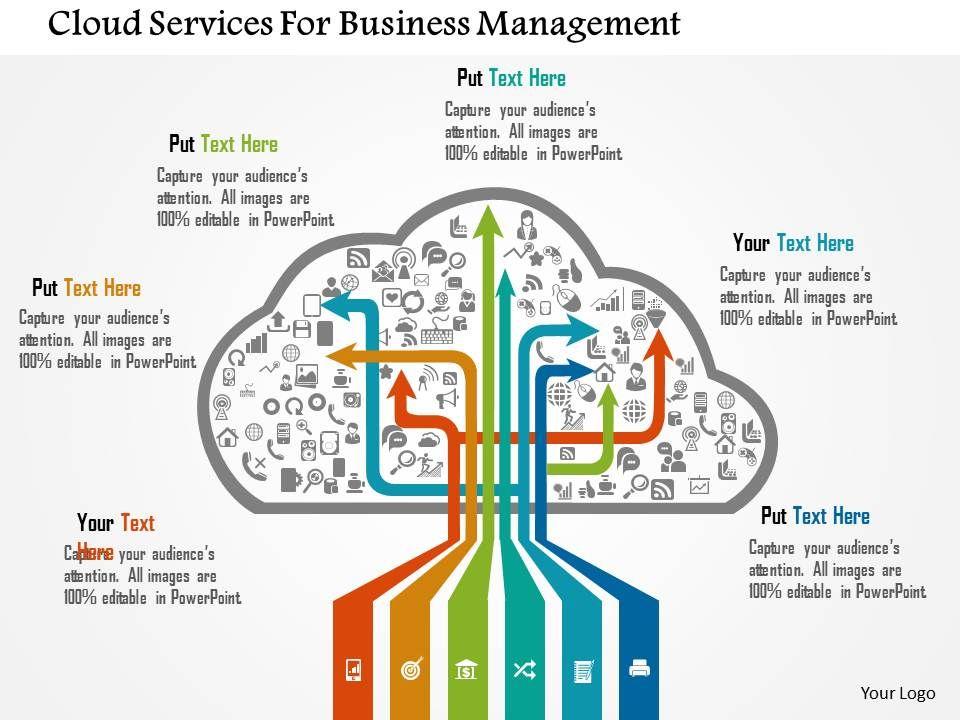 cloud_services_for_business_management_flat_powerpoint_design_Slide01