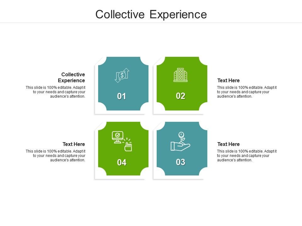 Collective Experience Ppt Powerpoint Presentation Icon Maker Cpb