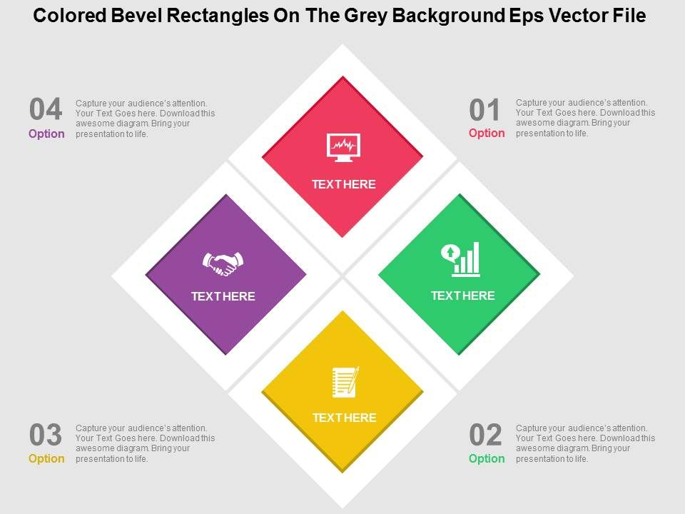 Colored bevel rectangles on the grey background eps vector file coloredbevelrectanglesonthegreybackgroundepsvectorfileflatpowerpointdesignflatpptdesignslide01 ccuart Gallery