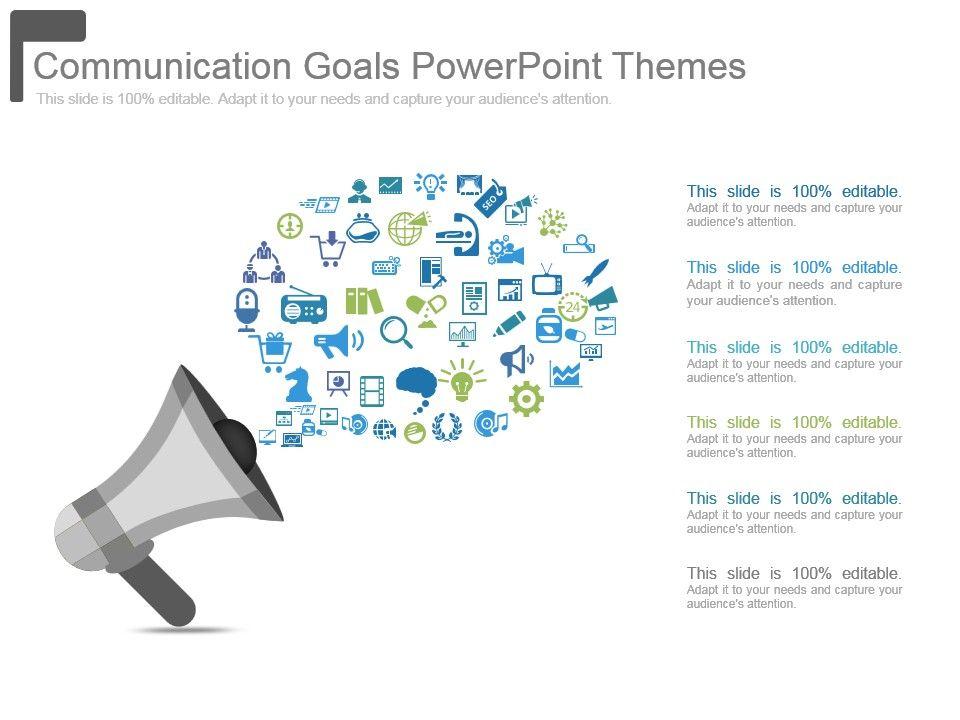 communication_goals_powerpoint_themes_Slide01