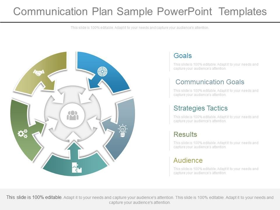 Communication Plan Sample Powerpoint Templates Powerpoint