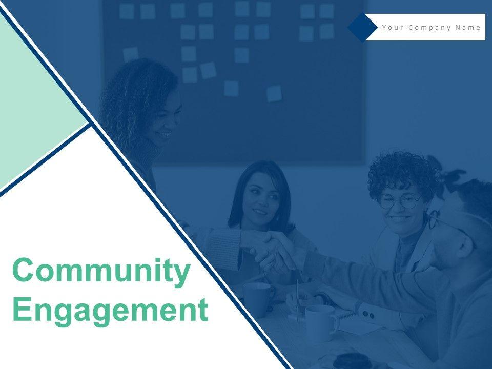 Community Engagement Powerpoint Presentation Slides