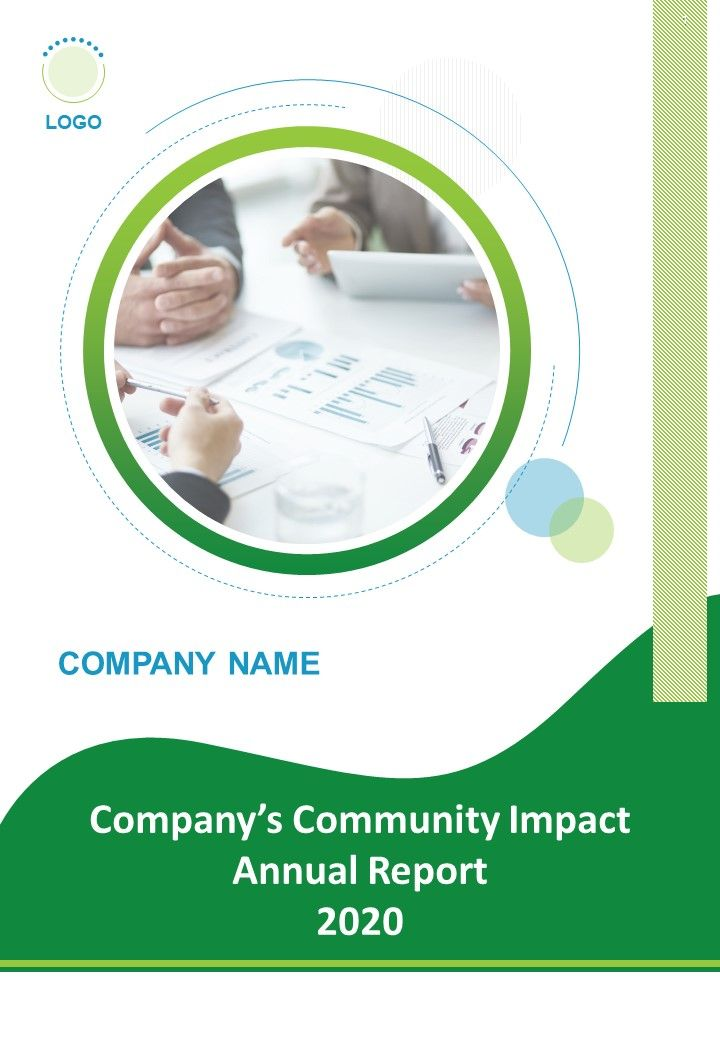 Community Impact Annual Report Examples PDF DOC PPT Document Report Template