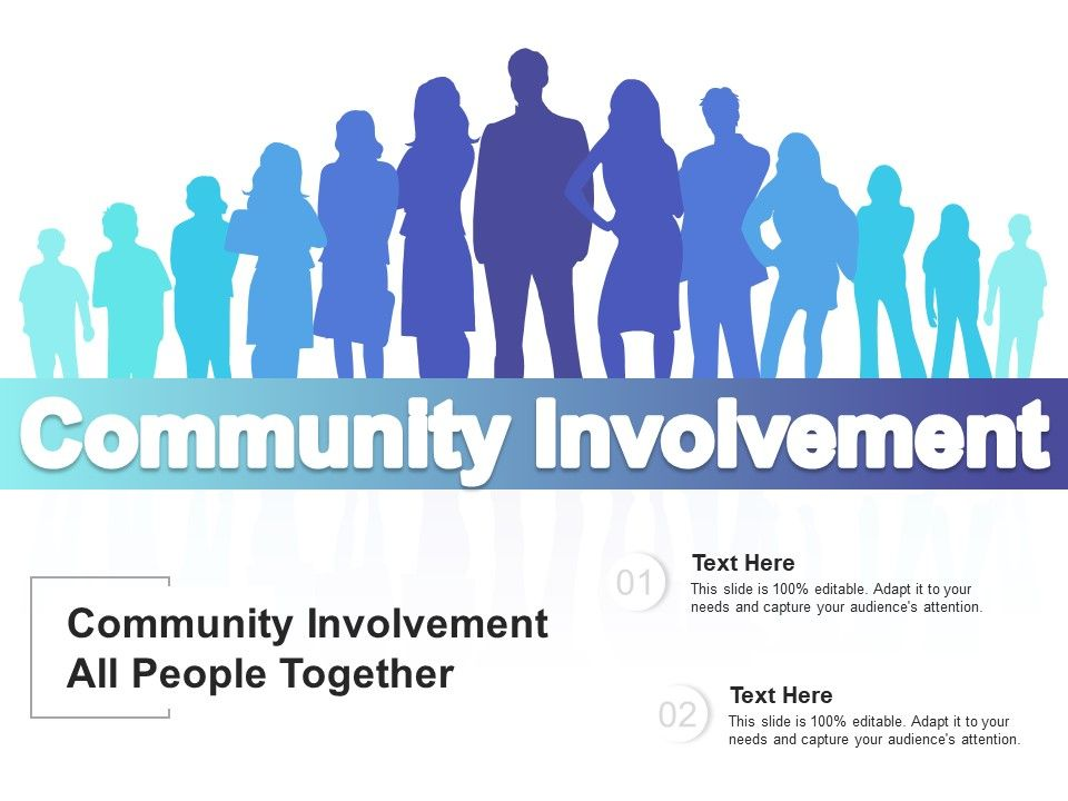 Community Involvement All People Together