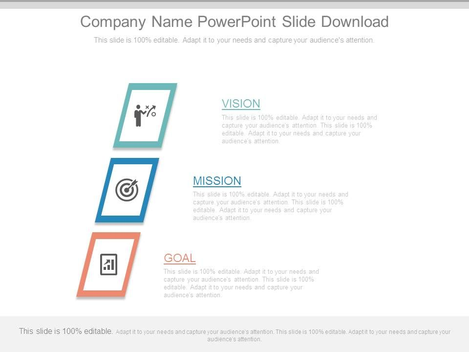 company name powerpoint slide download