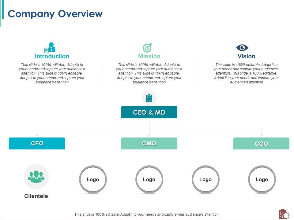 Company Overview Logo M2382 Ppt Powerpoint Presentation Slides Graphics Download