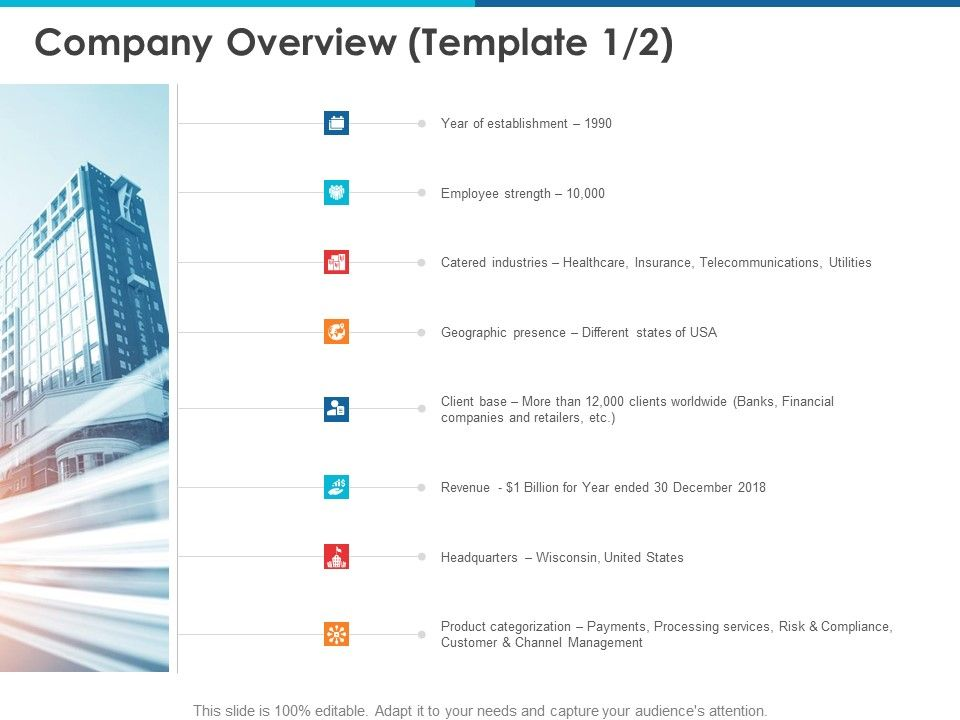 Company Overview Strength Ppt Powerpoint Presentation Maker
