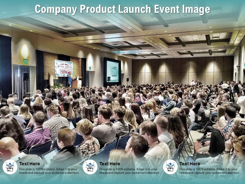 Company Product Launch Event Image