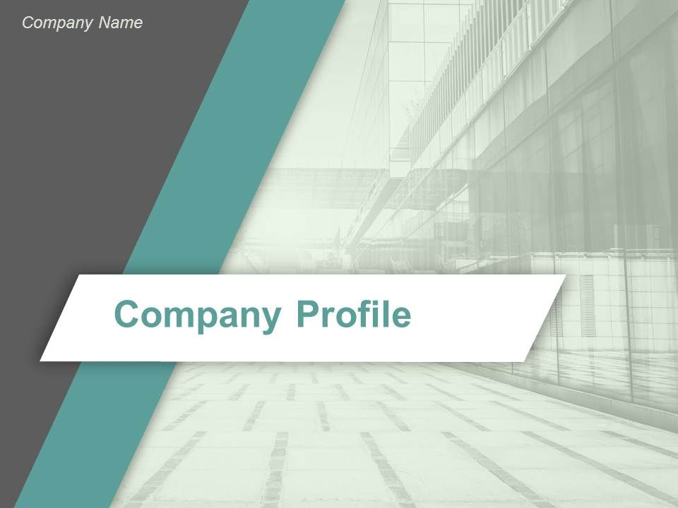 Company Profile Powerpoint Presentation Slides  Presentation
