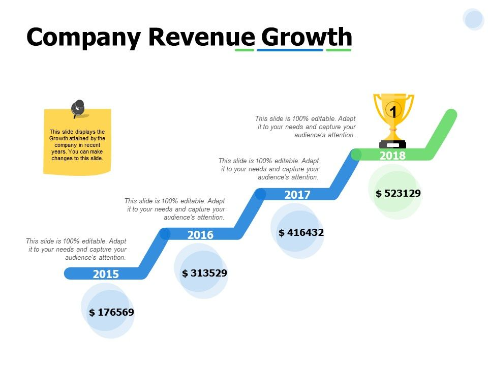 Company Revenue Growth Year Ppt Powerpoint Presentation Professional Templates