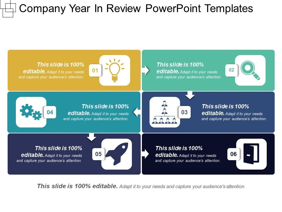 Company year in review powerpoint templates powerpoint for Year end review template