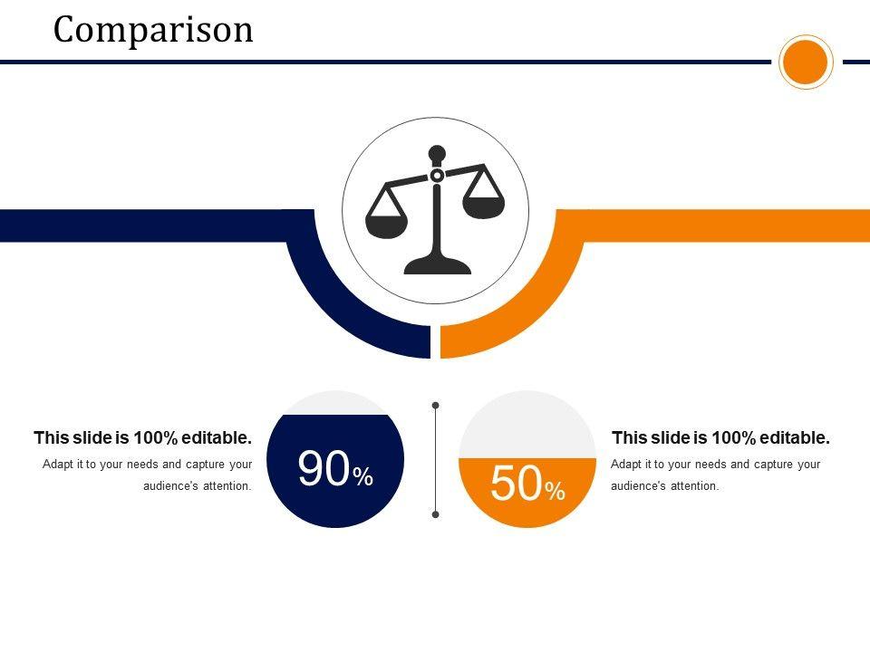 comparison presentation powerpoint example powerpoint slide