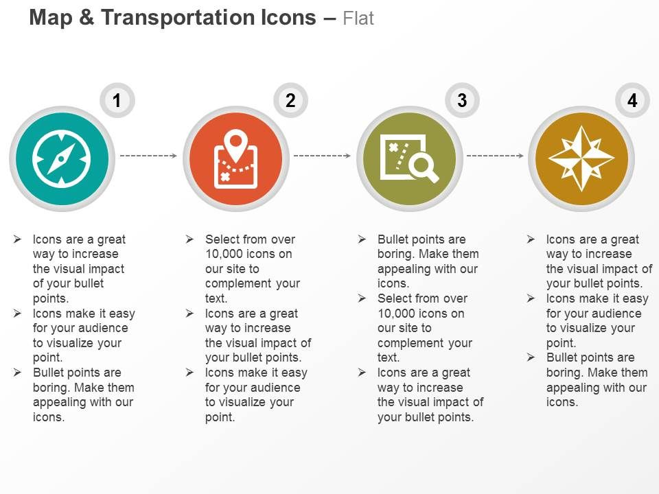 Compass Map Location Search Direction Indication Ppt Icons Graphics ...