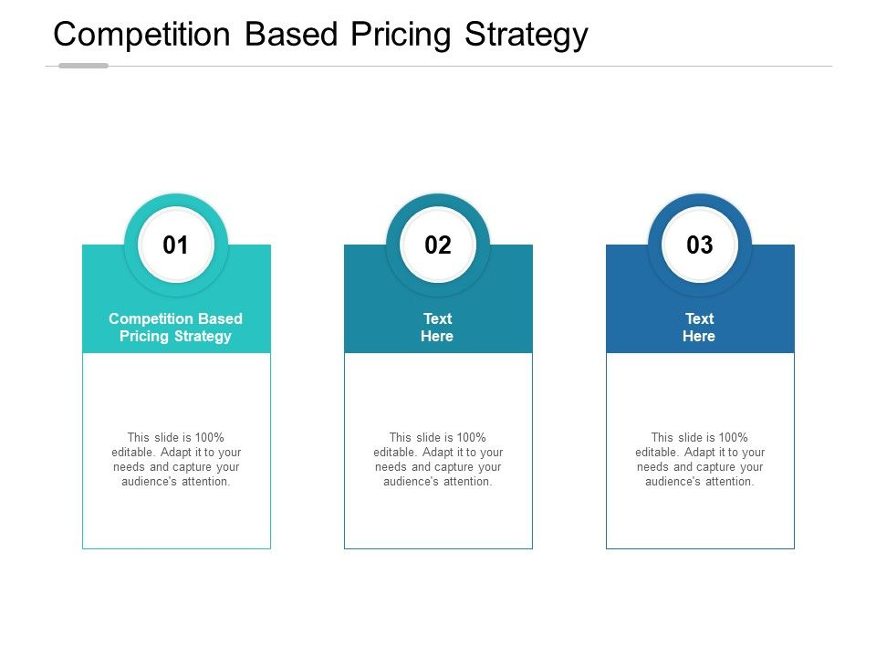 Competition Based Pricing Strategy Ppt Powerpoint Presentation Summary Cpb