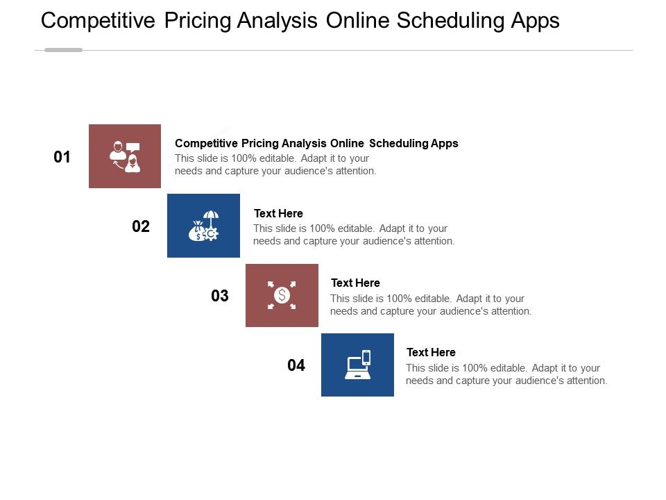 Competitive Pricing Analysis Online Scheduling Apps Ppt Powerpoint Presentation Cpb