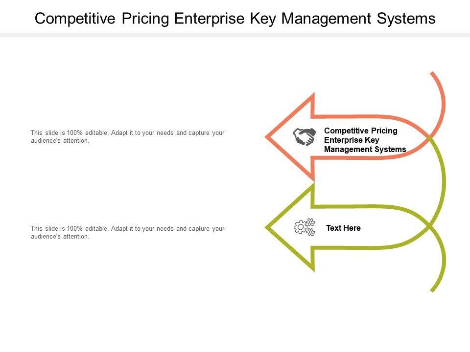 Competitive Pricing Enterprise Key Management Systems Ppt Powerpoint Presentation Portfolio Icon Cpb