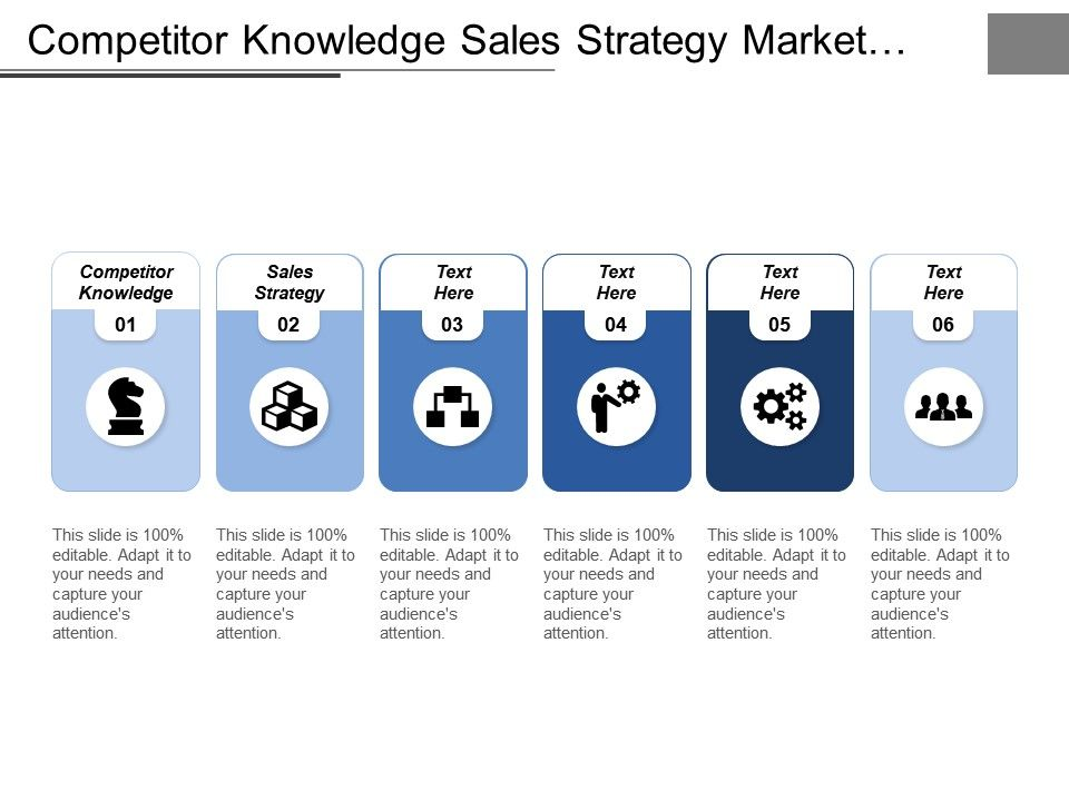 knowledge capture template - competitor knowledge sales strategy market segmentation