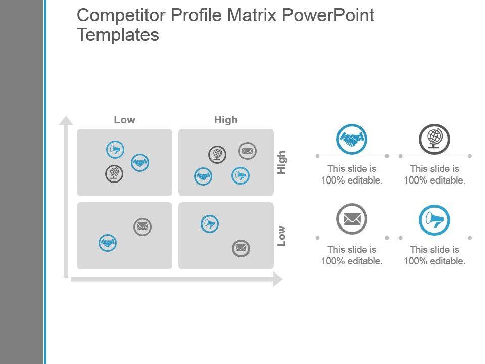 Competitor profile matrix powerpoint templates templates competitorprofilematrixpowerpointtemplatesslide01 competitorprofilematrixpowerpointtemplatesslide02 toneelgroepblik Choice Image