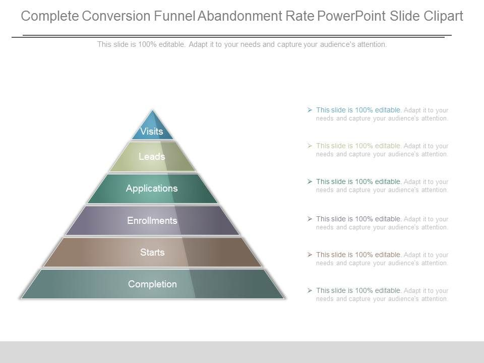 complete_conversion_funnel_abandonment_rate_powerpoint_slide_clipart_Slide01