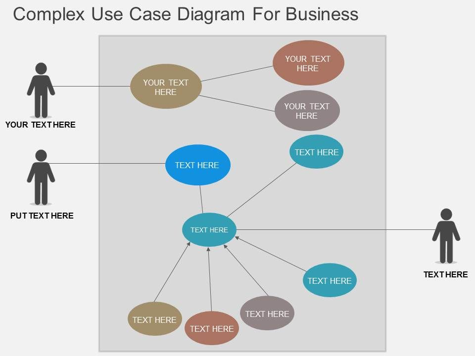 complex_use_case_diagram_for_business_flat_powerpoint_design_Slide01