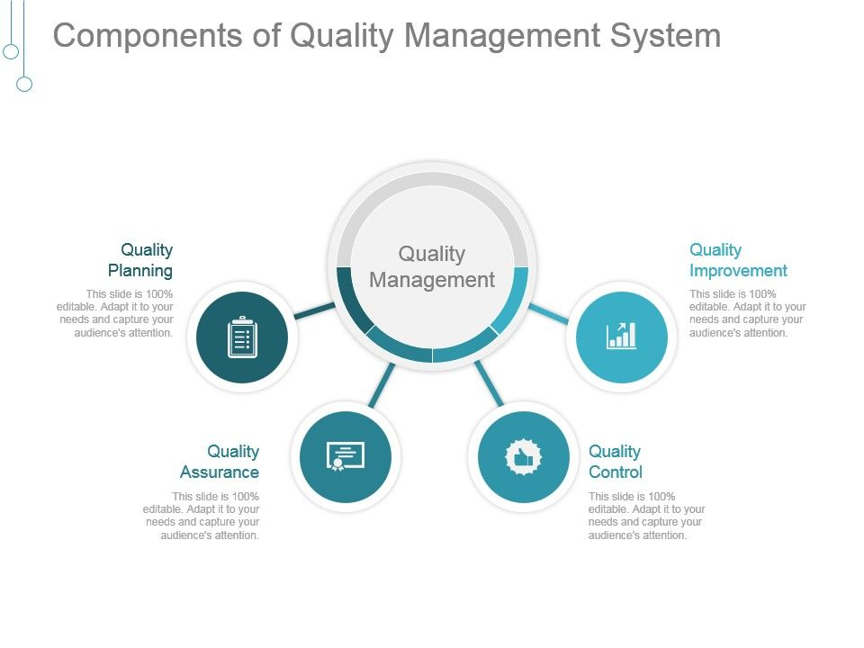 Components Of Quality Management System Good Ppt Example Ppt Images Gallery Powerpoint Slide Show Powerpoint Presentation Templates