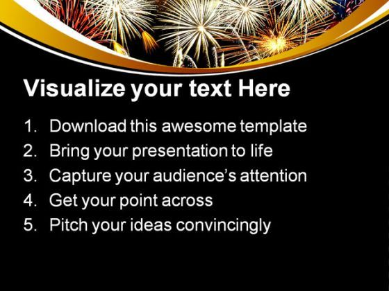 composite fireworks abstract powerpoint templates and powerpoint, Presentation templates