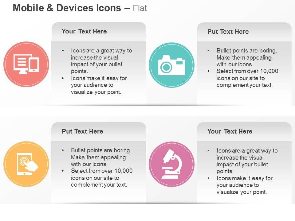 Computer Camera Mobile App Bioscope Ppt Icons Graphics