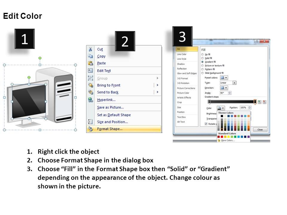 Computers Desktop Powerpoint Presentation Slides Db Powerpoint Slide Images Ppt Design Templates Presentation Visual Aids