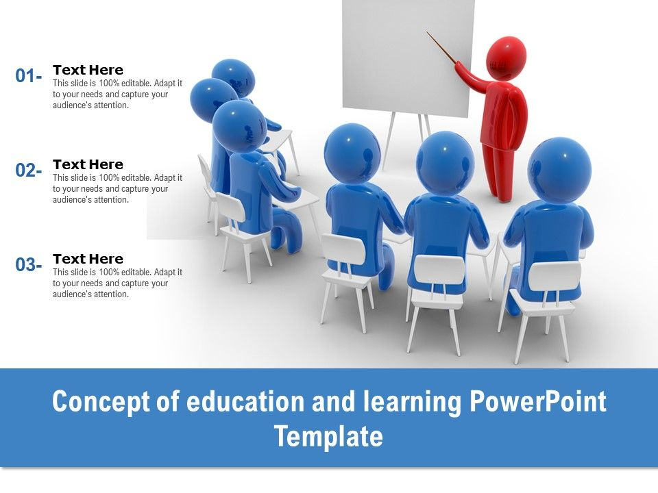 Concept Of Education And Learning Powerpoint Template