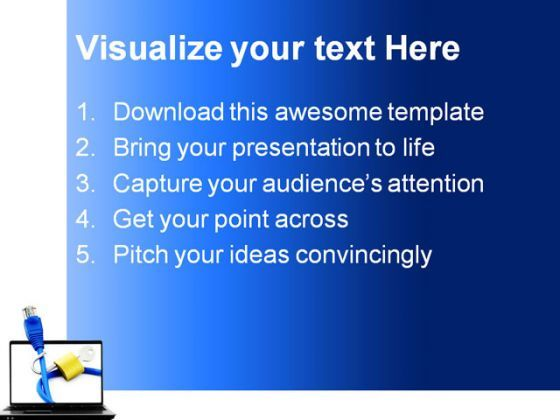concept of internet security powerpoint templates and powerpoint, Powerpoint templates
