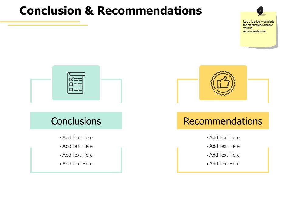 Conclusion And Recommendations Communication Ppt Powerpoint