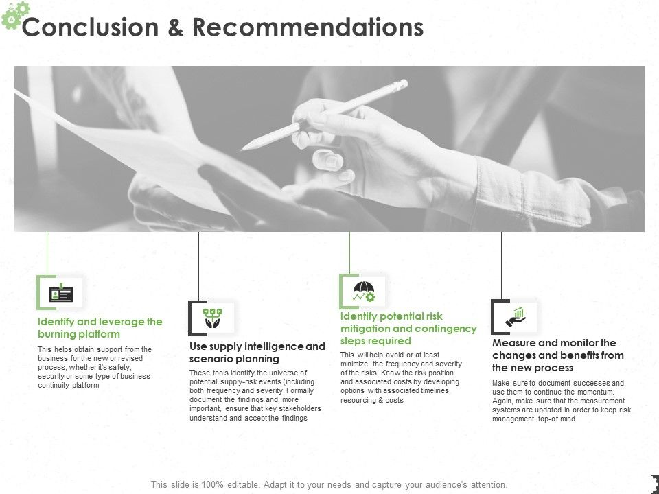 Conclusion And Recommendations Ppt Powerpoint Presentation Pictures
