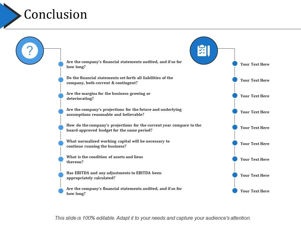 Conclusion Powerpoint Slide Influencers Powerpoint Shapes