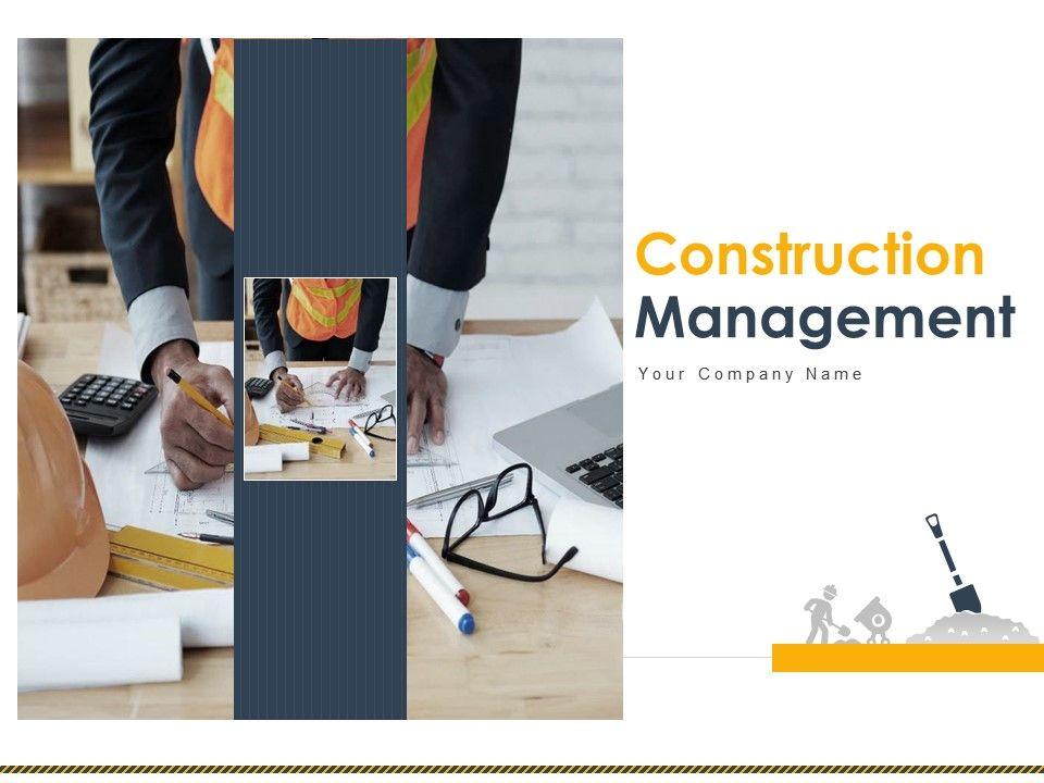 Construction Management Powerpoint Presentation Slides
