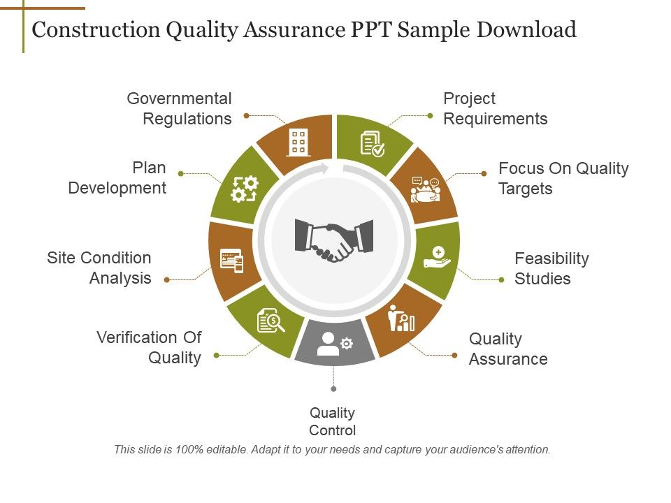Construction Quality Assurance Ppt Sample Download Powerpoint Slides Diagrams Themes For Ppt Presentations Graphic Ideas