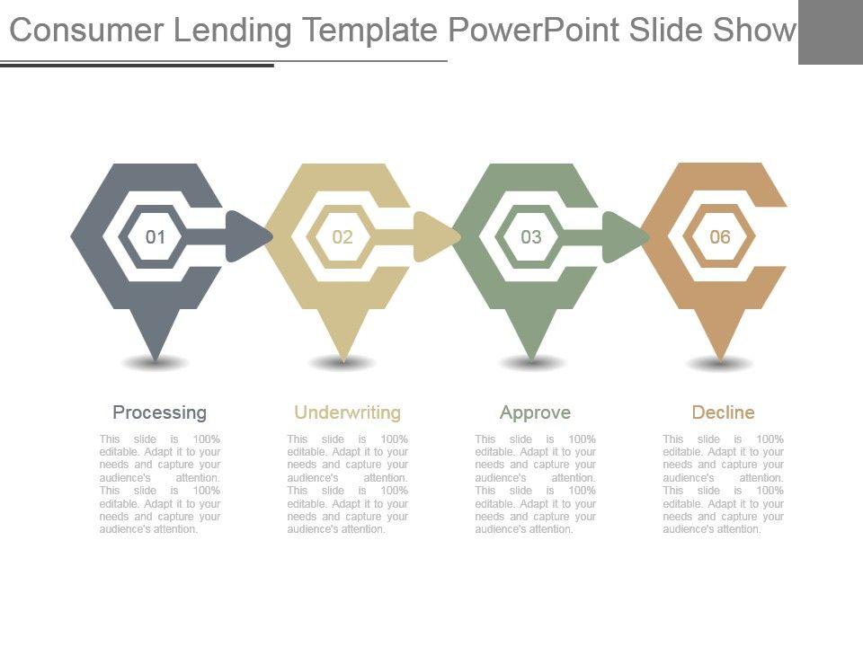 Consumer Lending Template Powerpoint Slide Show Template