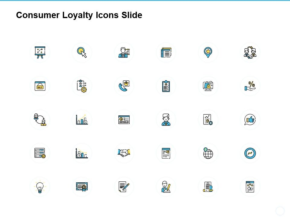 Consumer Loyalty Icons Slide Planning A481 Ppt Powerpoint Presentation Model Example