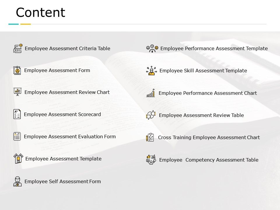 Content Employee Self Assessment Employee Competency Assessment C752 Ppt Powerpoint Presentation