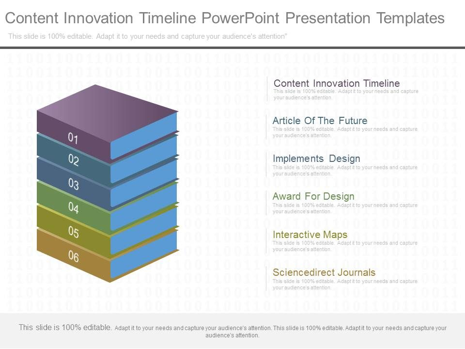 content_innovation_timeline_powerpoint_presentation_templates_Slide01