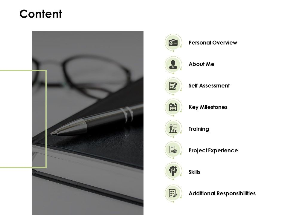Content Personal Overview Self Assessment C586 Ppt Powerpoint Presentation Gallery Design Inspiration