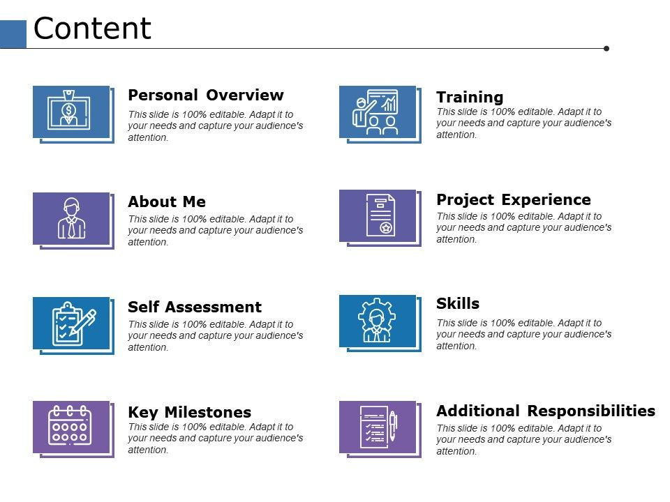 Content Self Assessment Ppt Powerpoint Presentation File