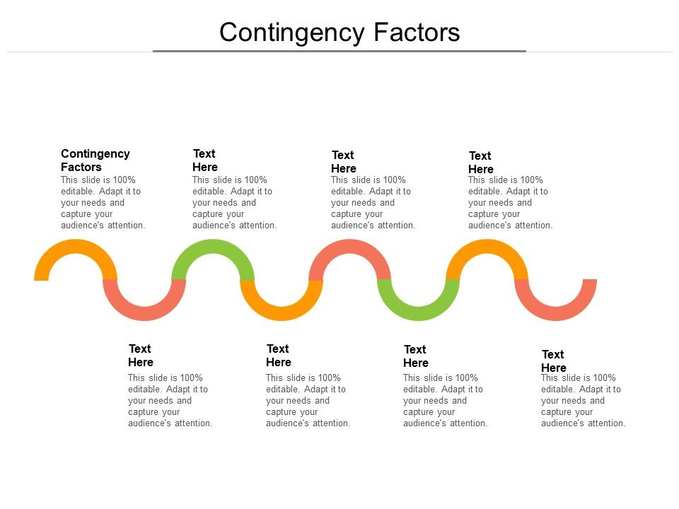 Contingency Factors Ppt Powerpoint Presentation Professional Ideas Cpb